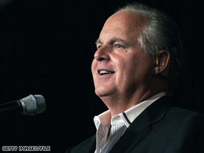 Conservative radio talk show host Rush Limbaugh responded Monday to recent reported comments by President Obama.