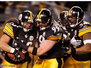The Steelers are this year's presidential Super Bowl pick.
