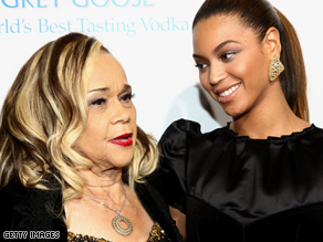 Beyonce and James together at the Cadillac Records premiere.