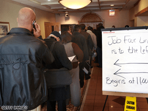 Rising job losses are sparking widespread anxiety.