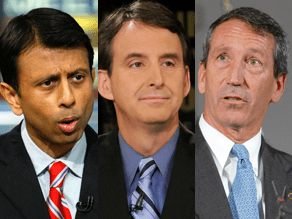 Govs. Jindal, Pawlenty, and Sanford would not rule out running for president in 2012.