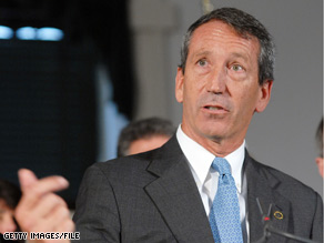 South Carolina's Republican Gov. Mark Sanford would like to use part of his state's stimulus money to pay down state debt.
