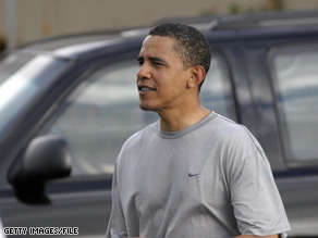 President Obama is known as an avid exerciser who religiously works out 45 minutes a day and regularly plays basketball.