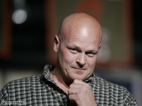 Joe the Plumber got hot and bothered in Washington Thursday night.