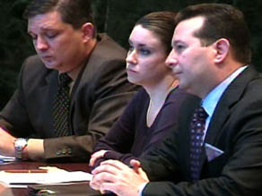 Casey Anthony with defense attorney Jose Baez