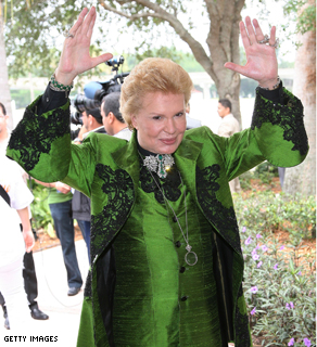 A May 2007 photograph of celebrity psychic Walter Mercado.