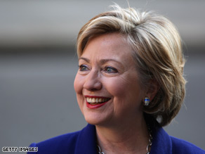 The Iraqi government could be tweeting soon, courtesy of Hillary Clinton.