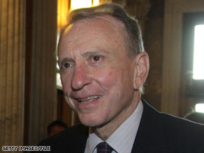 Sen. Arlen Specter was expected to face a tough primary challenge in 2010.