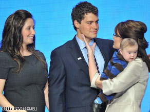 Last year, Gov. Palin revealed that her teen daughter, Bristol, was unmarried and pregnant just as the Republican National Convention was beginning.
