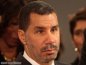 A new poll out Wednesday shows the lowest-ever approval rating for a New York governor  David Paterson recorded by Quinnipiac polling.
