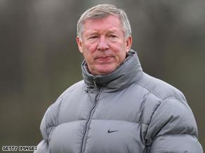 Alex Ferguson has set his sights on consecutive Champions League crowns.