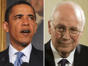 Obama hit back at Cheney's comments in an interview on NPR Monday.