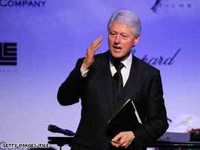 In an article in an upcoming issue of New York Times Magazine, former President Clinton discusses his wife's new role as the country's top diplomat.