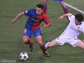 Pedro Pinto rated Xavi as Barcelona's best player in the Champions League final.