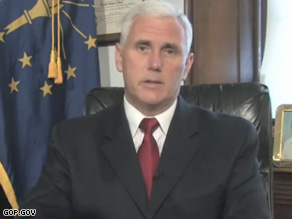 Indiana Rep. Mike Pence might be eyeing a White House bid.