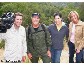 Randi Kaye, producer Susan Chun and our crew traveled with police officials as they discovered and destroyed a marijuana garden in California.