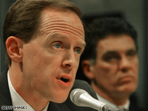 Toomey has raised $1.6 million for his Senate bid.
