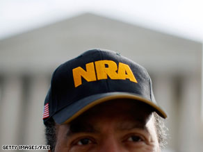 The National Rifle Association announced Thursday that it opposes Sonia Sotomayor's nomination to the Supreme Court.