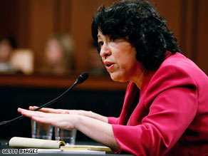 Sonia Sotomayor said Thursday that the Supreme Court appears to 'have the capacity to take on more cases.'