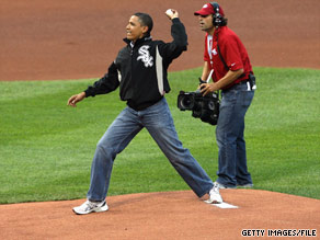 President Obama responded to criticism of his jeans with a simple explanation: 'Those jeans are comfortable.'
