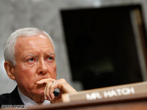 Sen. Orrin Hatch announced Friday that he opposes Sonia Sotomayor's confirmation to the Supreme Court.
