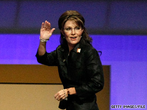 On her final day in office, Republican expressed a range of views about Gov. Palin's political future.