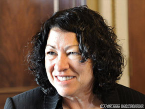 Sonia Sotomayor's Supreme Court nomination is to be put to a vote in the Judiciary Committee today.