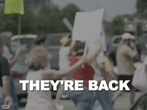 A DNC Web ad accuses the GOP of inciting mobs.