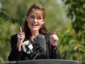 Palin suggests the disruptive protests 'diminish our nation's civil discourse', and says opponents shouldn't give supporters of health care reform any reason to criticize them.