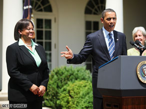 President Obama has nominated a paid consultant for Burger King to be the nation's top doctor.