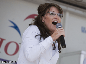 Palin has given contributions to a number of Republicans in recent days.
