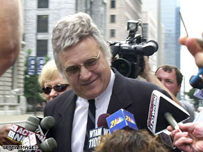 Traficant got a rousing reception Sunday night.