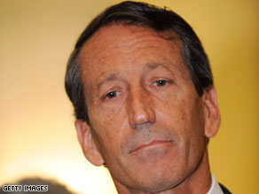 Mark Sanford, a Republican, has refused to resign in the face of criticism from his own party.