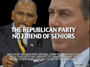 The DNC's latest ad says the GOP is 'no friend of seniors.'