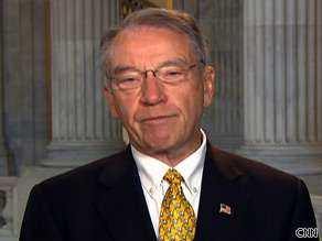 Sen. Charles Grassley says the bipartisan approach to health care reform is the best.