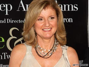Send your questions for Arianna Huffington.