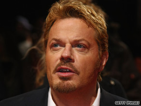 Cross-dressing comedy legend Eddie Izzard is CNN's Connector of the Day Tuesday.