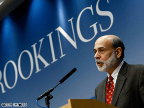 Time Magazine named Federal Reserve Chairman Ben Bernanke the 2009 'Person of the Year' Wednesday.