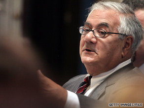'I am very disappointed in the actions that were taken by members of ACORN,' Rep. Barney Frank said in a statement Wednesday.