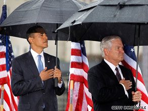 Secretary Gates said President Obama is 'very analytical' and 'delves very deeply' into issues.