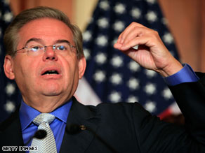 Menendez: GOP's August gains will translate to 2010 losses.