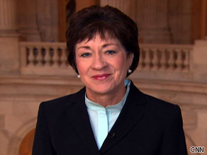 Sen. Susan Collins (R-ME) says so far she hasn't seen a health care bill that accomplishes what she thinks needs to be done.