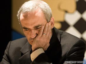 Kasparov is as passionate about politics as he is about chess.