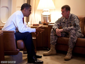 Gen. Stanley McChrystal, the top U.S. commander in Afghanistan, has made no secret about his belief that the U.S. needs to send more troops now.