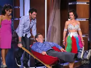 An injured DeLay had to call it quits on Dancing with the Stars Tuesday night.