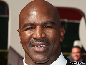 Evander Holyfield is the only boxer to win the heavyweight title four times.