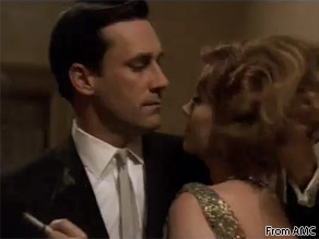 Jon Hamm plays Don Draper, the charismatic lead character of AMC's ''Mad Men.''