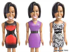 A spokeswoman for first lady Michelle Obama said the White House has no comment on a new doll set to be released in late November.
