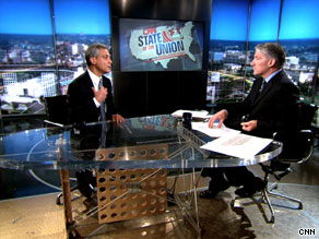 White House Chief of Staff Rahm Emanuel discussed health care reform Sunday on CNN's State of the Union with John King.