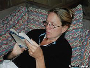 Nina Sankovitch is reading and reviewing a book every day for a year.